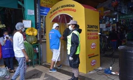 Sofía instala nueve cámaras de desinfección en los mercados de Santa Cruz