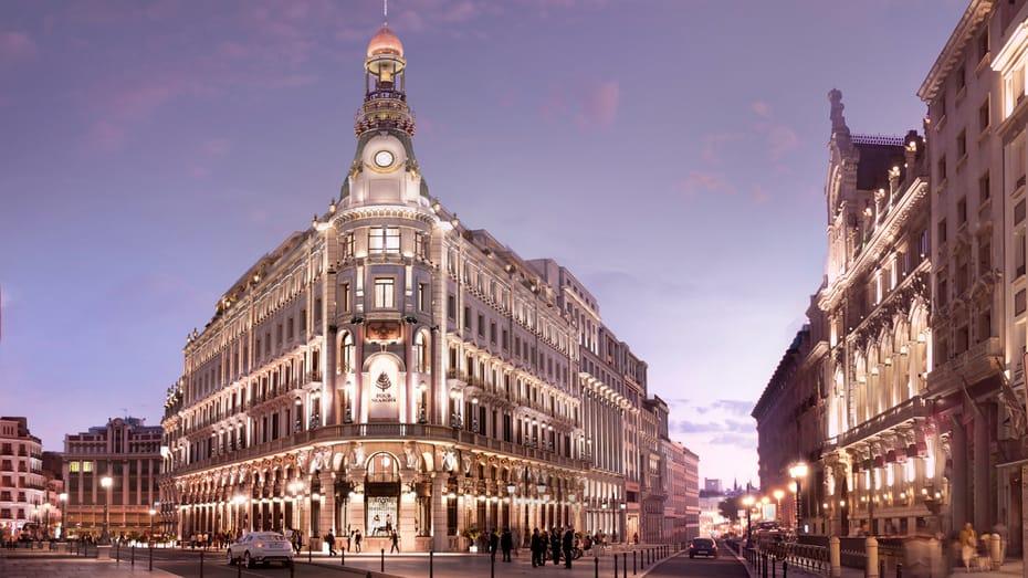 Hotel Four Seasons, la sucursal del lujo abre en Madrid
