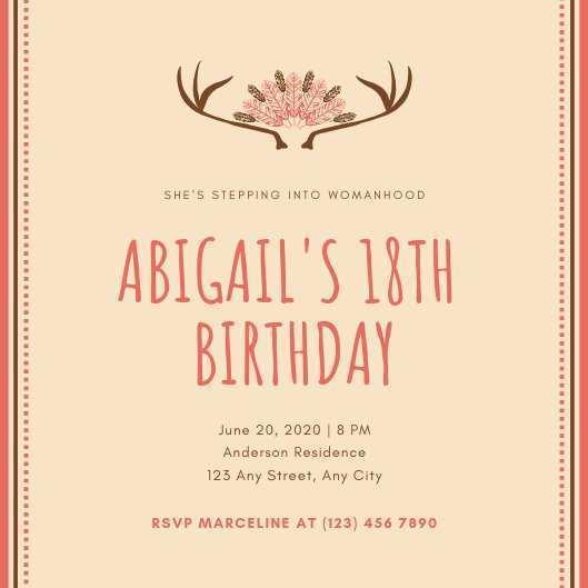 17 free printable invitation card