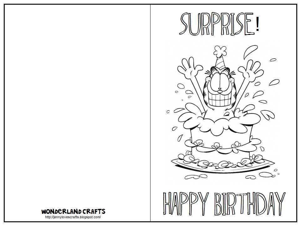 22 Free Printable Print A Birthday Card Template In Photoshop For Print A Birthday Card Template Cards Design Templates