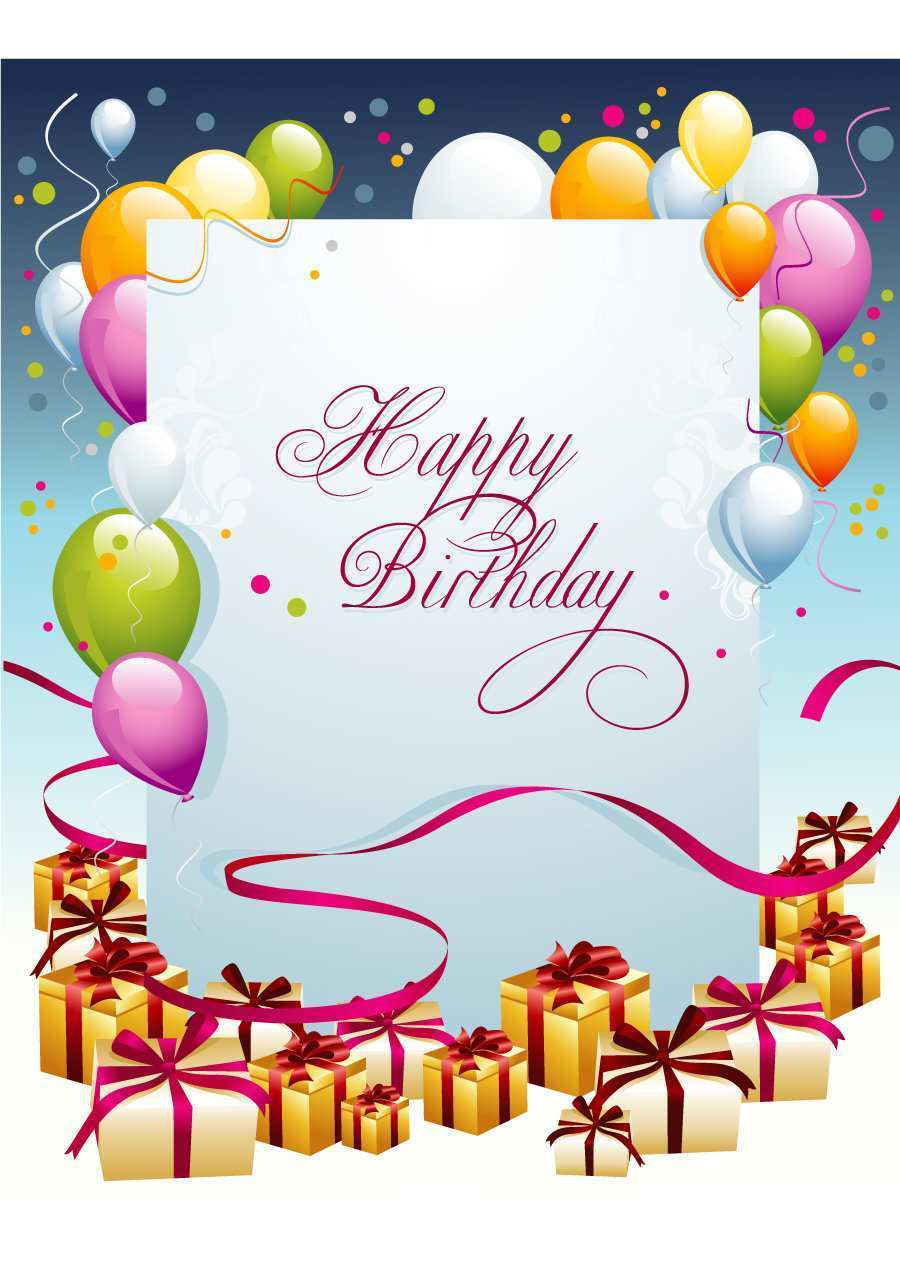 96 Customize Our Free Birthday Card Template Hd Psd File With Birthday Card Template Hd Cards Design Templates