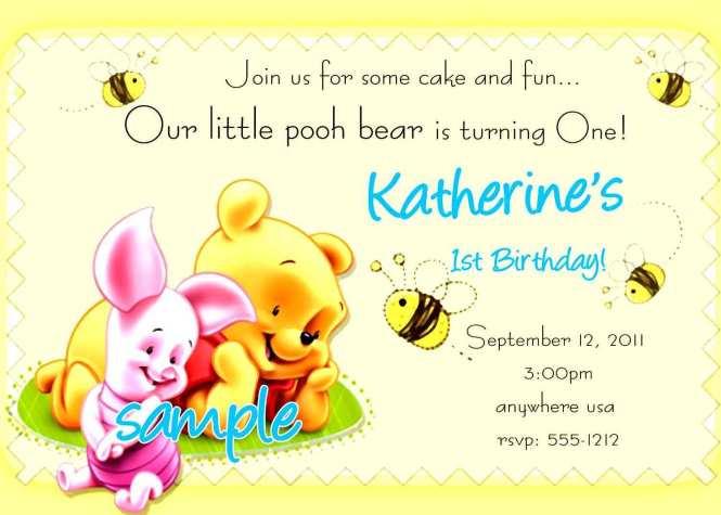Birthday Invitation Card Sample Text