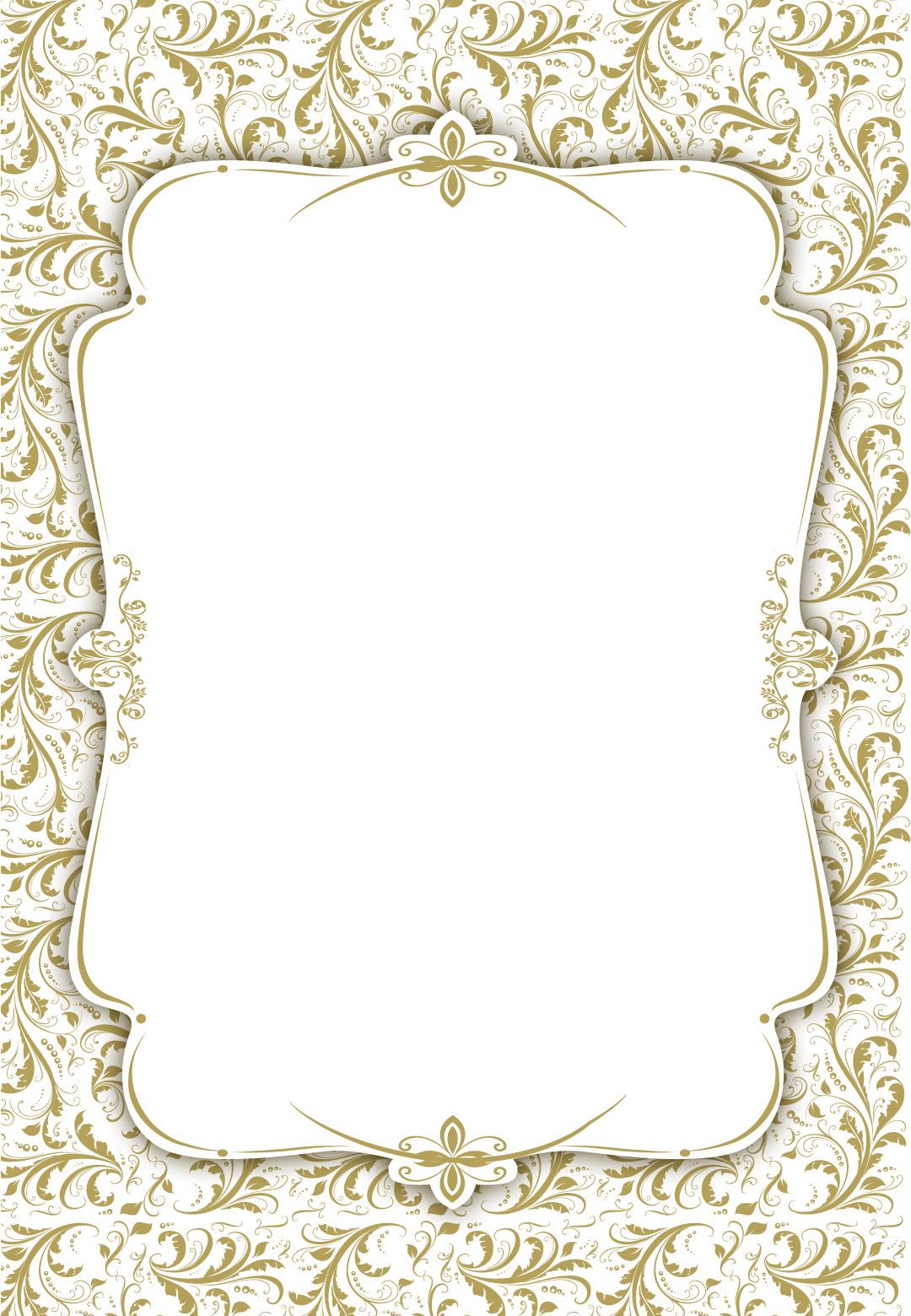 view wedding invitation card template