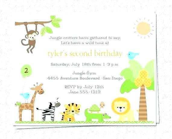 28 printable jungle theme birthday