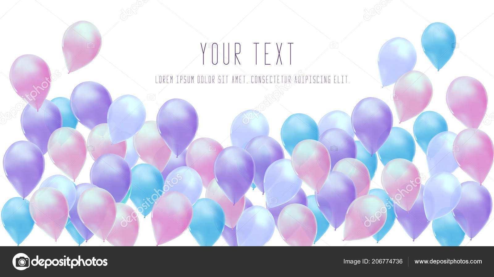 85 format birthday invitation