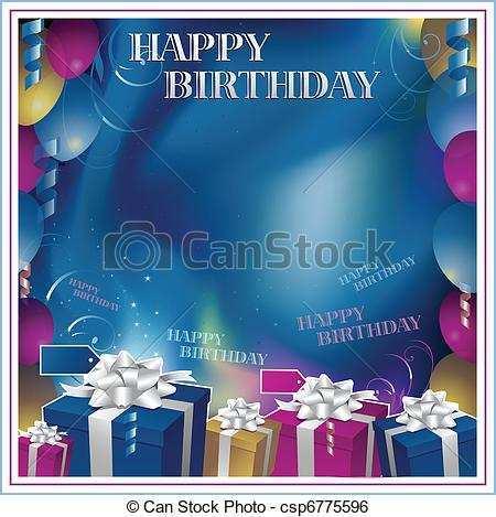87 blank birthday invitation background