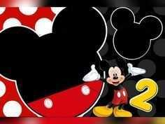 35 Mickey Mouse Blank Birthday Invitation Card Design