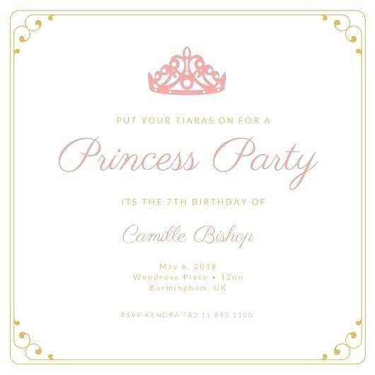 14 printable princess sofia birthday