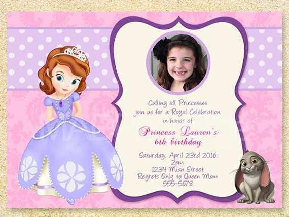 14 standard princess sofia birthday
