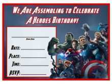 31 creating avengers party invitation