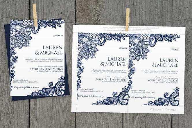 Format Diy Wedding Invitation Template