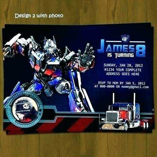 37 blank transformers birthday
