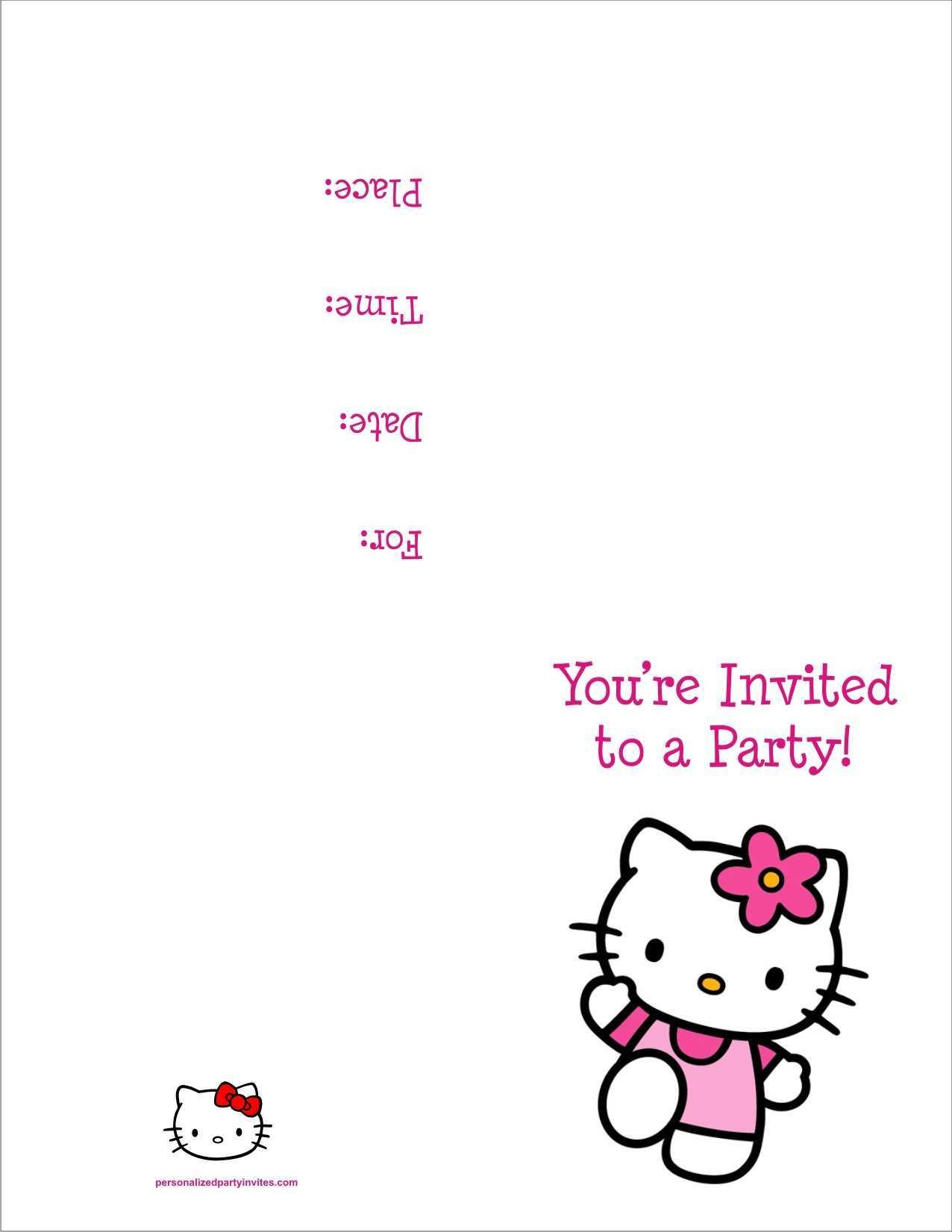 41 create hello kitty birthday
