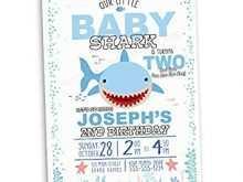 54 Free Baby Shark Birthday Invitation Template Download With Baby Shark Birthday Invitation Template Cards Design Templates