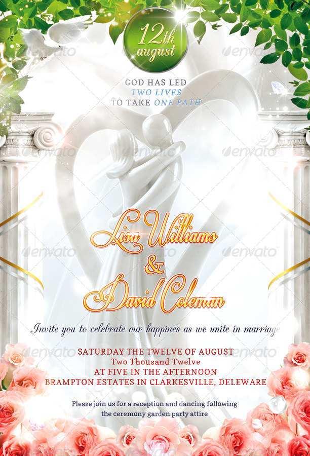 54 free wedding invitation template psd