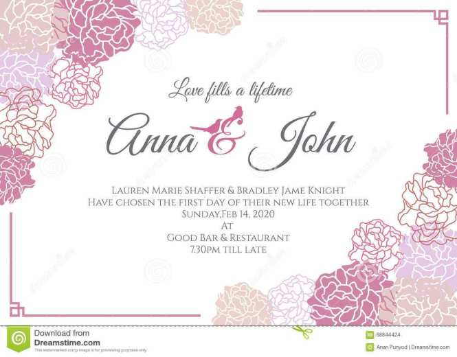 Invitation Card Samples Online Now