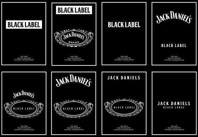 62 format jack daniels blank invitation