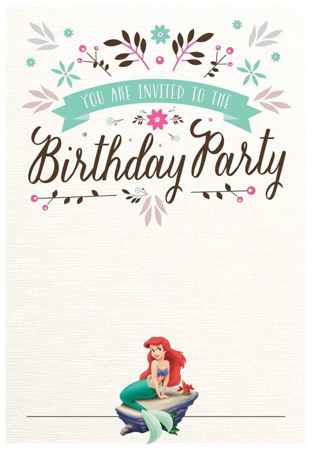 62 free printable little mermaid