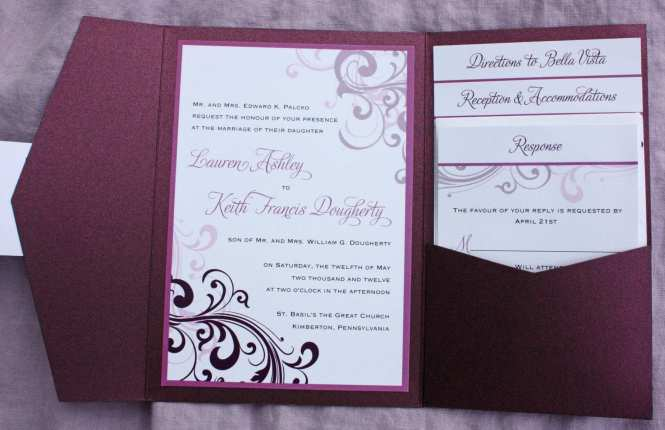 Own Wedding Invitation Template Free