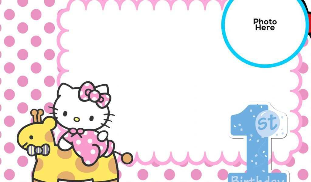 70 free hello kitty birthday invitation