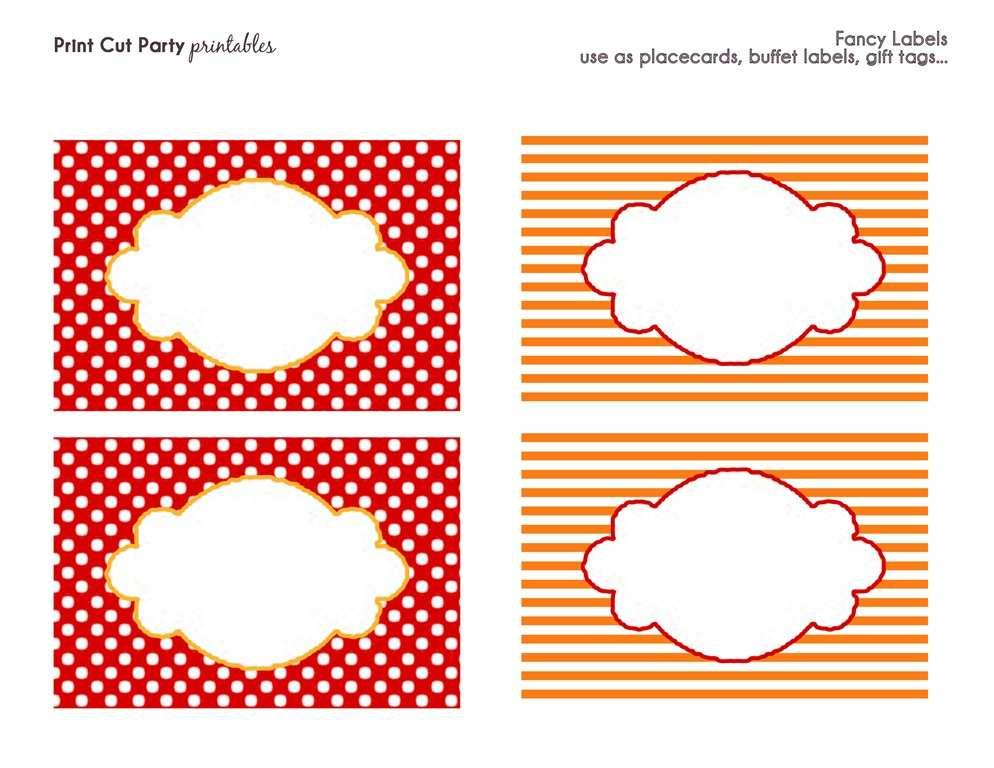 73 free printable circus birthday