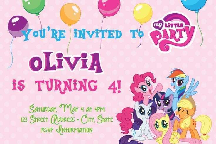 83 free my little pony birthday