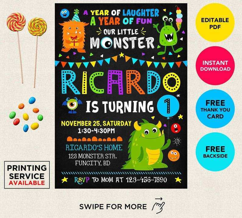 etsy birthday invitation template
