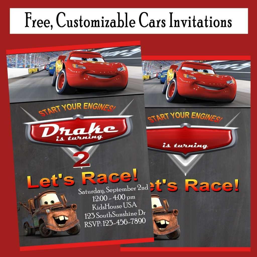 92 create disney cars birthday