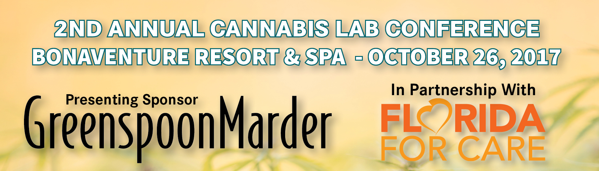 2ND ANNUAL CANNABIS LAB CONFERENCE