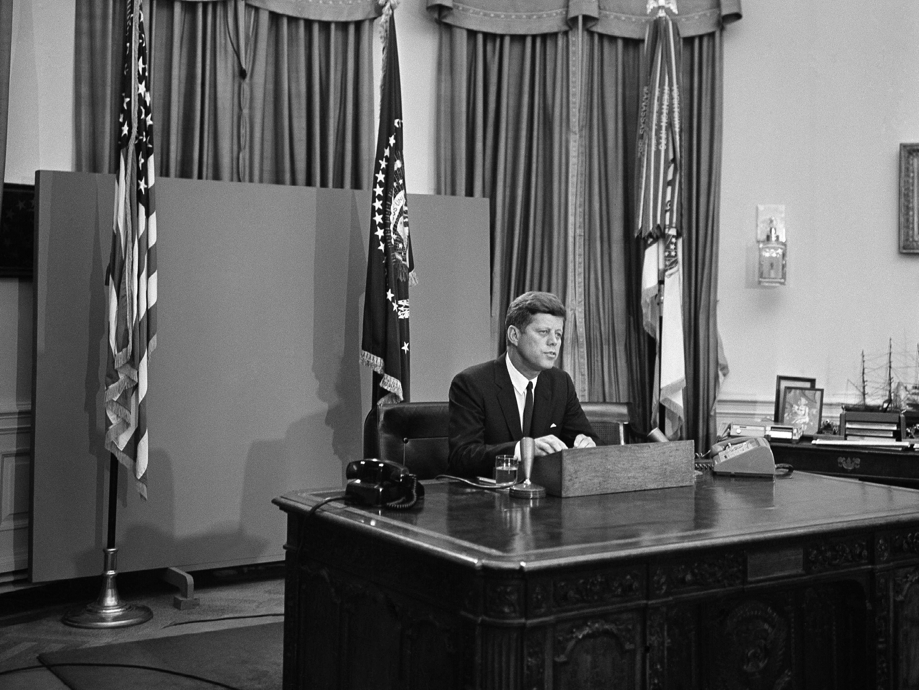 June 11 President Kennedy Addresses The Nation