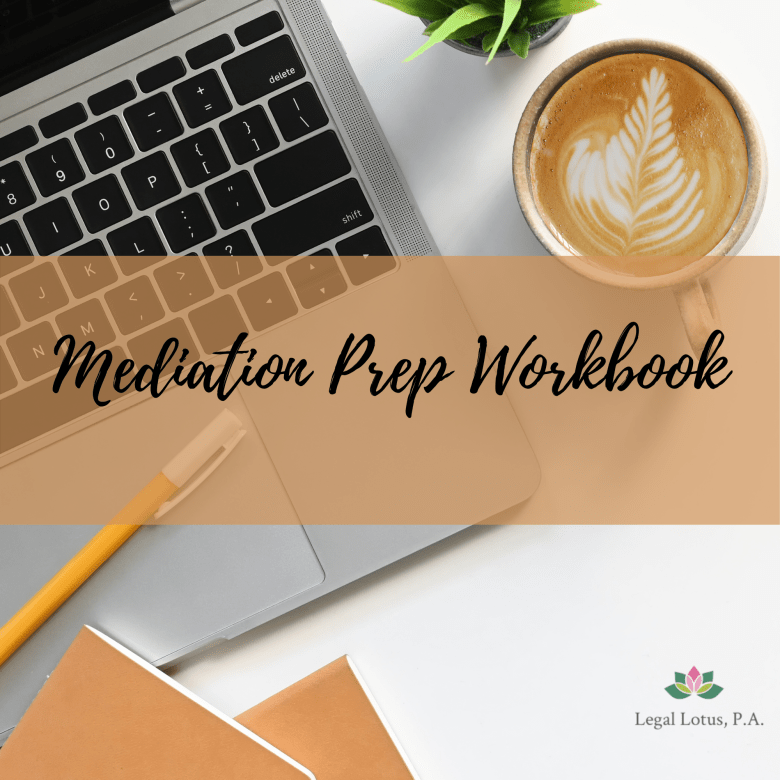 Legal Lotus Mediation Prep Workbook