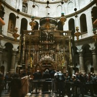 Church of the Holy Sepulchre, Aedicule, Jerusalem, Israel.