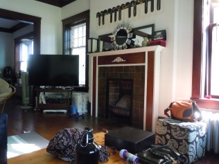 My lovely little Cleveland Heights apartment.