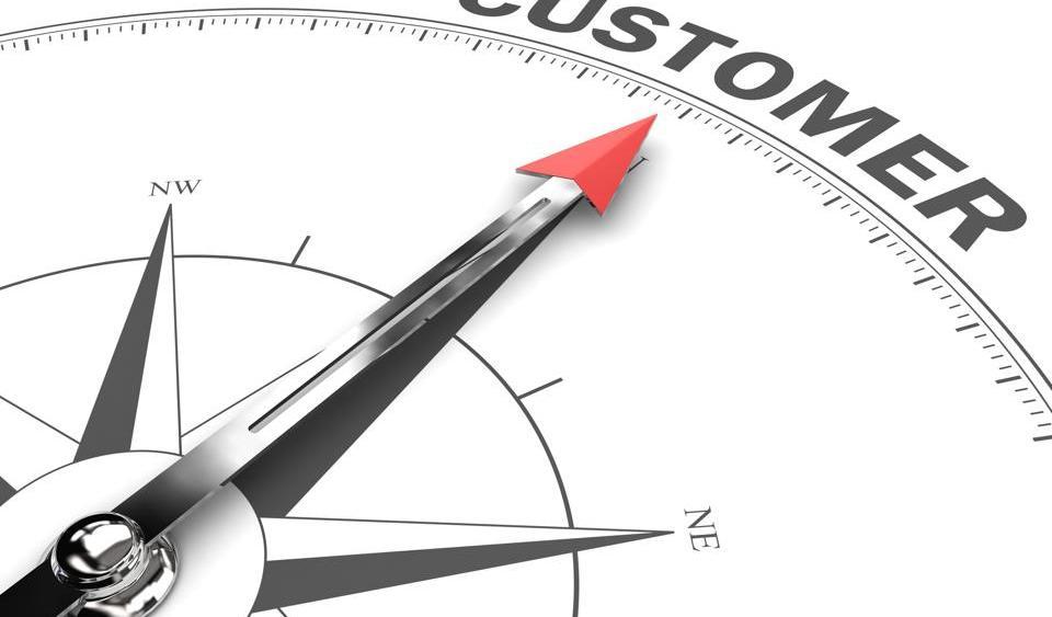 Customer satisfaction compass business target goal direction