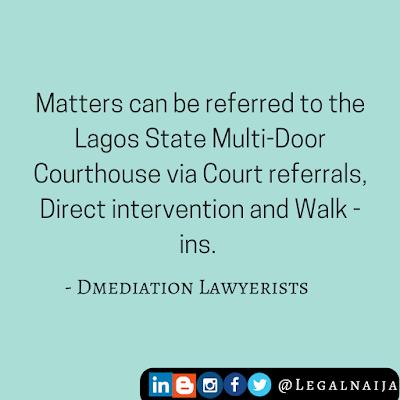 The Lagos Multi-door Courthouse II – Referrals