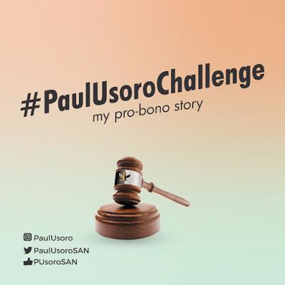WIN 100k via  #PAULUSOROCHALLENGE – My Pro Bono Story