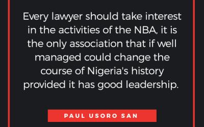Quote via Paul Usoro SAN