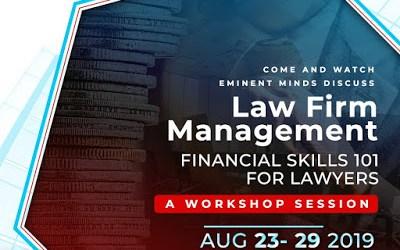 Law Firm Management:  Financial Skills 101 #NBAAGC2019