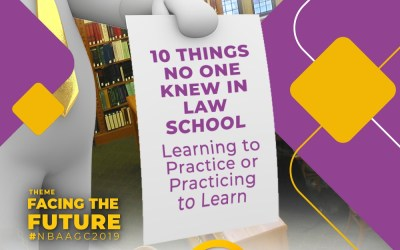 10  Things No One Knew At Law School – Learning To Practice Or Practicing To Learn.