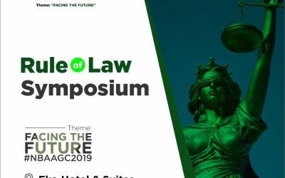 Rule Of Law Symposium #NBAAGC2019