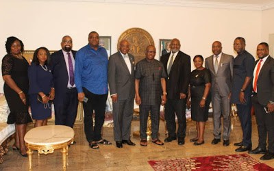 NBA PRESIDENT AND TCCP LEADERSHIP VISIT RIVERS STATE GOVERNOR FOR 2019 AGC.