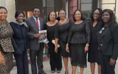 Dele Adesina SAN pays Courtesy Visit to International Federation of Women Lawyers (FIDA) Nigeria.