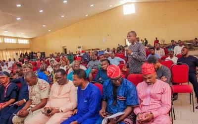 Photo Speak: Egbe Amofin Oodua Meeting on 22/02/2020