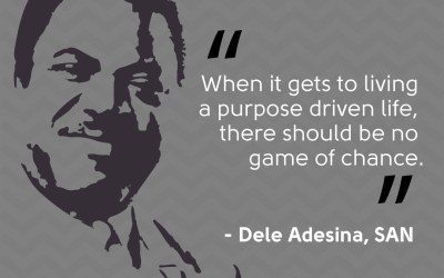 Dele Adesina SAN Quote on prosperity of young lawyers