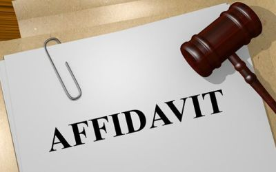 How to Use an Affidavit of Loss