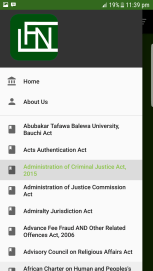 all laws of the federation of Nigeria lfn app