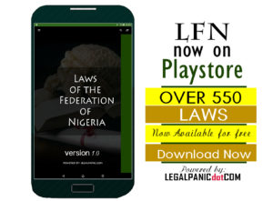 All Laws of the Federation of Nigeria App LFN v.1 download