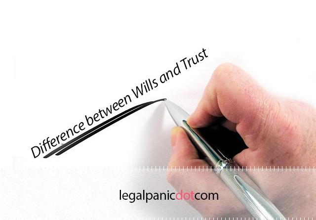 Difference between Wills and Trusts