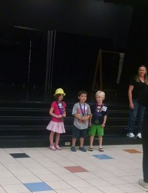 Harrison Thalwitzer is 1st place winner for Kindergarten Block Kids Contest