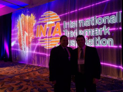 Attorneys Mark Malek and Mark Warzecha attend the Black Tie Gala at the 2015 INTA Conference